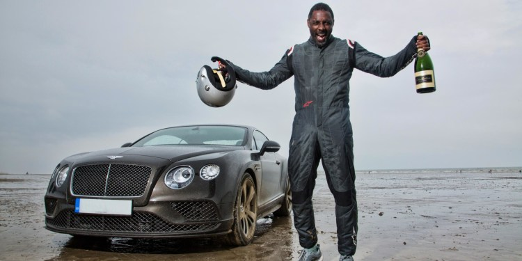 Idris Elba breaks Sir Malcolm Campbell's Flying Mile record