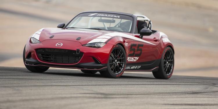2016 Mazda MX-5 Cup car begins testing