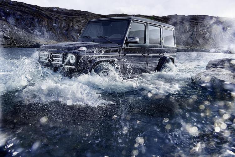 Refreshed 2016 Mercedes-benz G-Wagen revealed