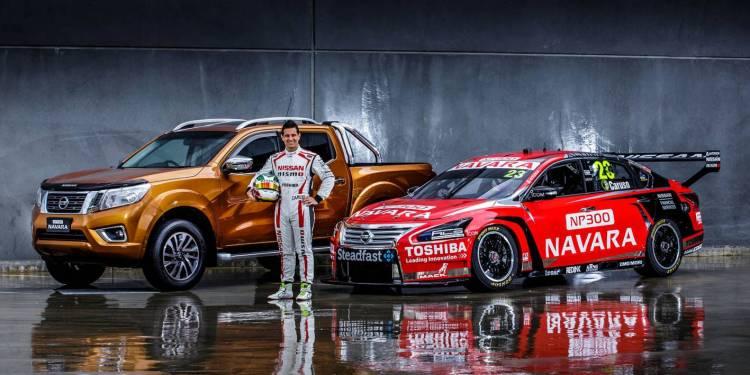 Navara to sponsor V8 Supercars Winton round this weekend