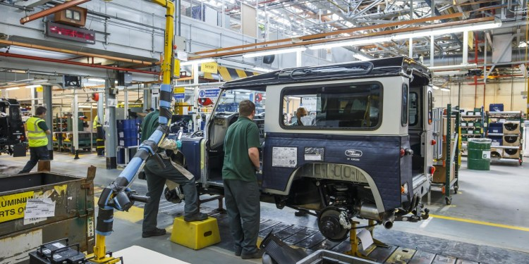 Land Rover Defender production extended