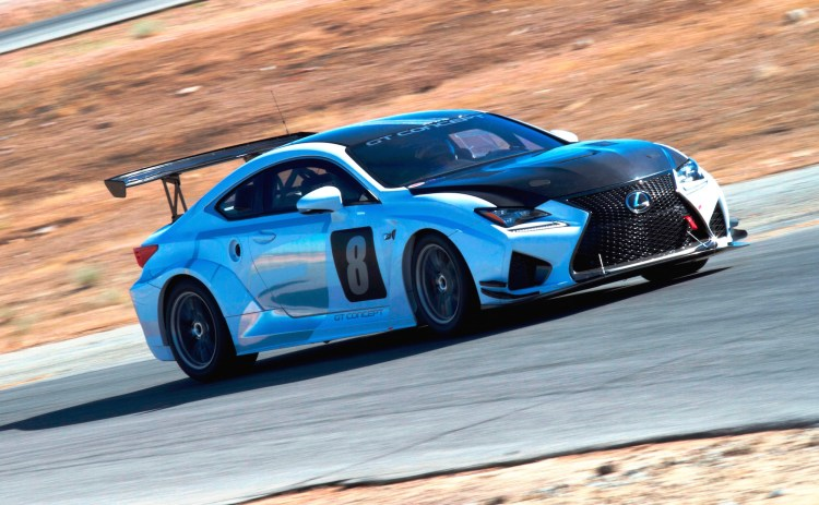 Lexus' new RC F GT Concept will compete at the Pikes Peak Hill Climb