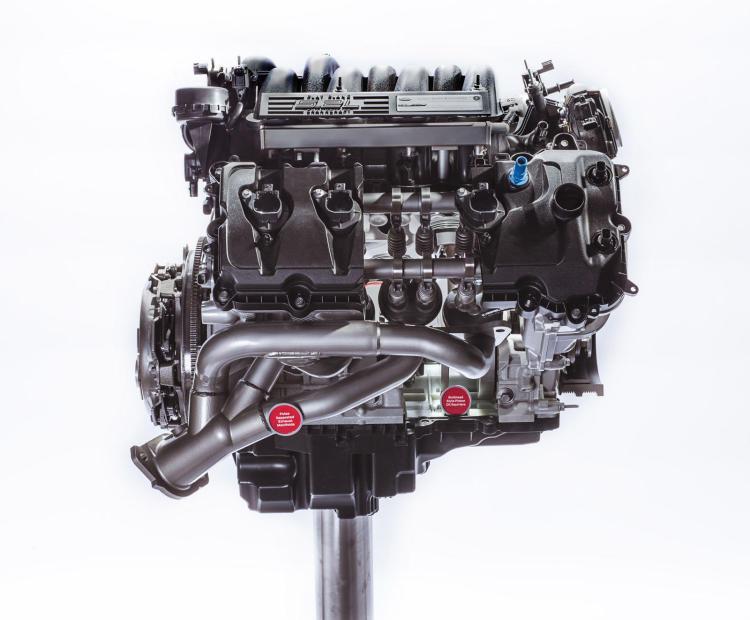 2015 Ford Shelby GT350 Mustang V8 engine details revealed