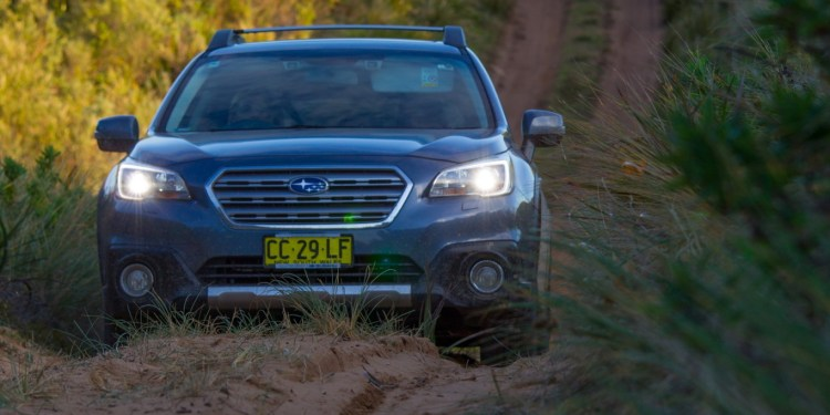 Subaru Outback 2015 onroad and offroad test | Practical Motoring