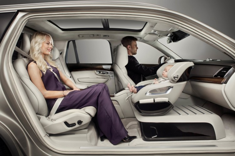 Volvo reveals Excellence Child Seat Concept