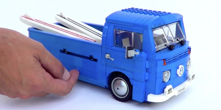 Lego VW T2 Bay Window revealed