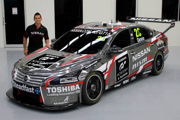 Michael Caruso to run in GT Academy colours