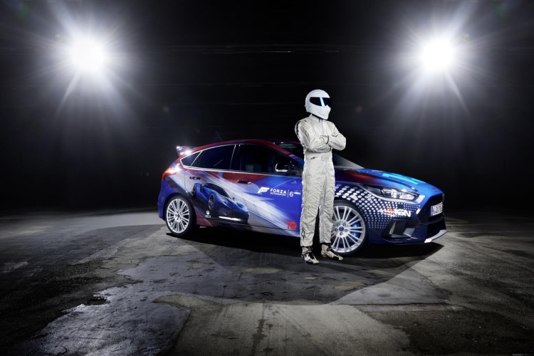 The Stig reveals one-off Focus RS