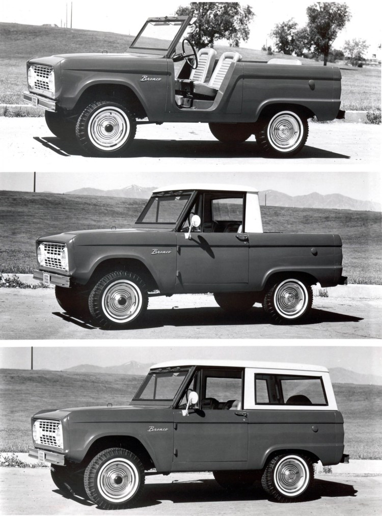 Ford Bronco turns 50