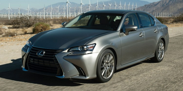 2016 Lexus GS 200t revealed