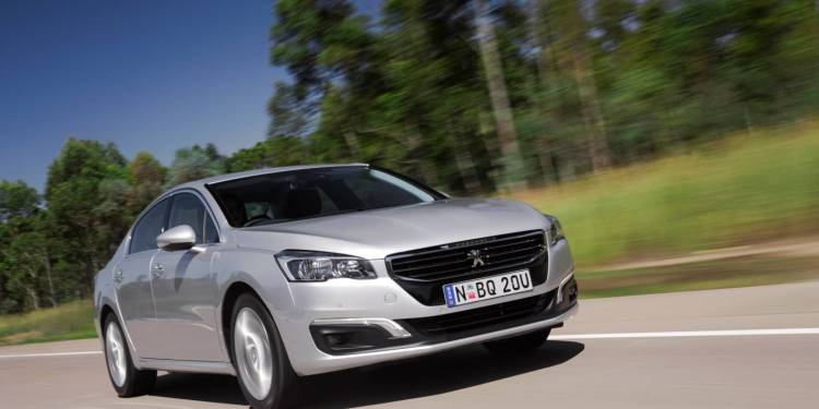 2015 Peugeot 508 Allure car review