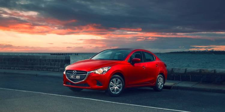 2015 Mazda2 sedan now on-sale in Australia