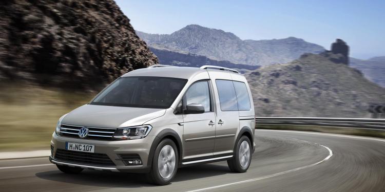 2016 Volkswagen Caddy Alltrack revealed