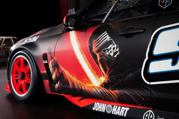 Holden Racing team wears Star Wars livery for Bathurst 1000