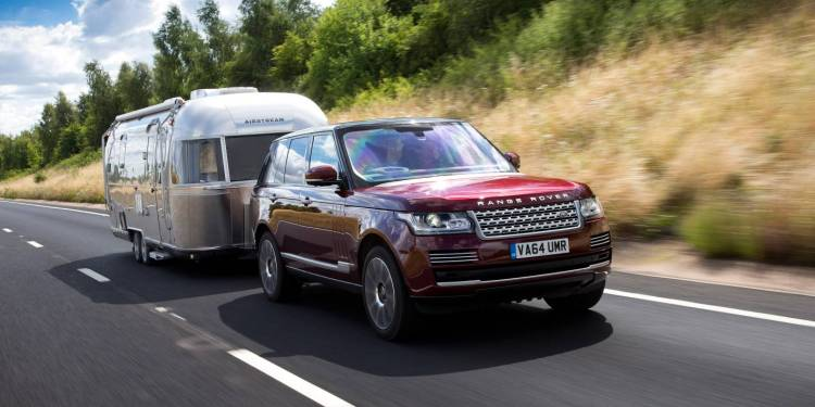 Land Rover developing see-through trailer technology