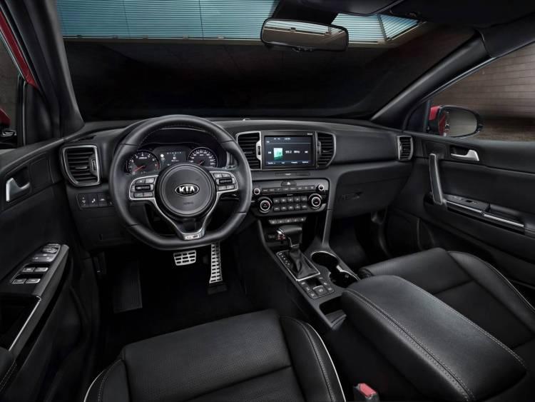 Kia Sportage interior revealed