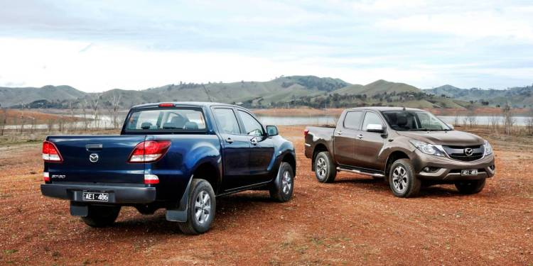 2016 Mazda BT-50 gets minor price rise
