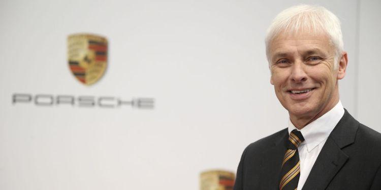 Porsche CEO Matthias Müller