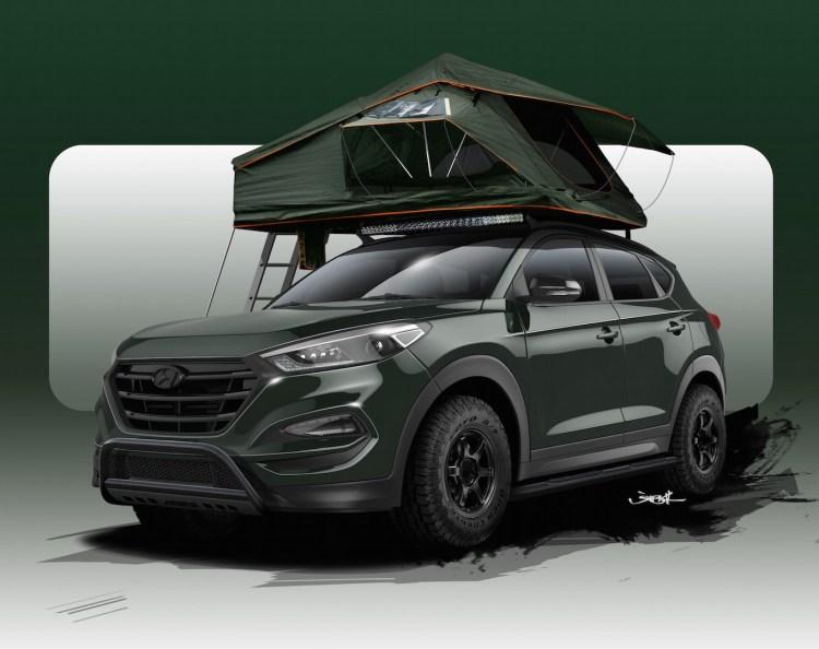 Hyundai Tucson Adventuremobile revealed