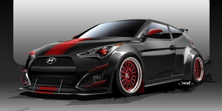 Blood Type Racing reveals 372kW Hyundai Veloster for SEMA