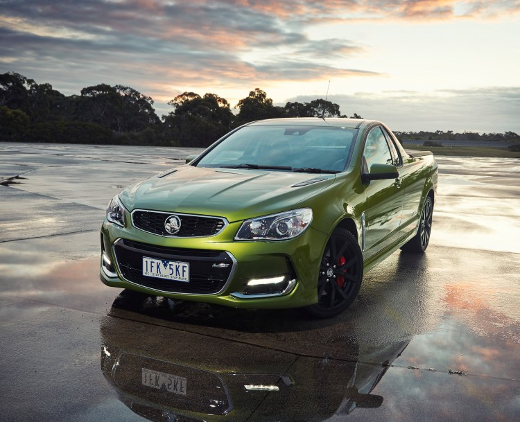 2016 Holden Commodore VFII Ute revealed