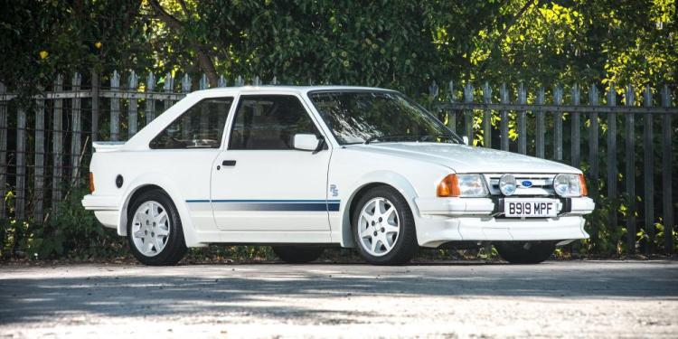 Ford Escort RS Turbo sets auction record