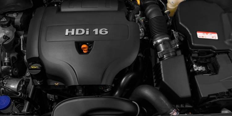 Peugeot 508 engine