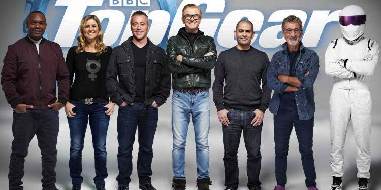 TopGear TV hosts revealed