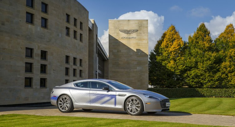Aston Martin to produce RapidE