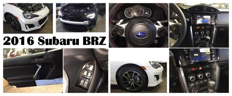 refreshed Subaru BRZ spied