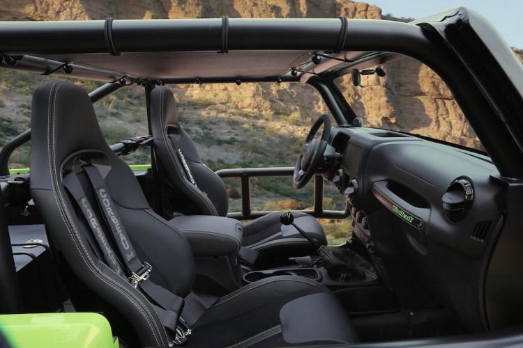 Jeep® Trailcat Concept Interior
