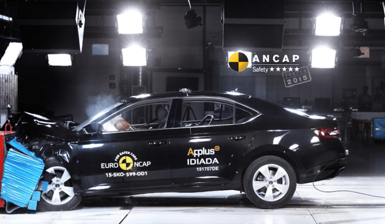 Skoda Superb gets 5 star ANCAP rating