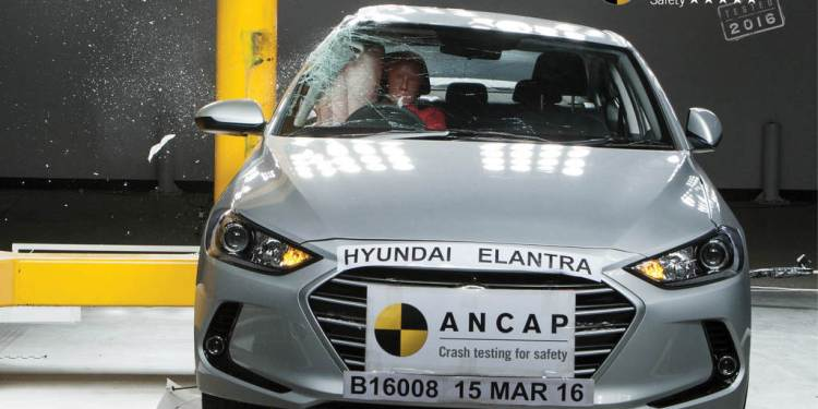 Hyundai Elantra gets 5 star ANCAP rating