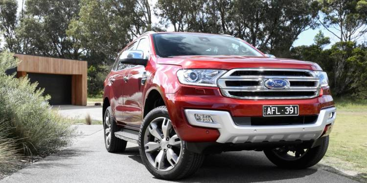 Ford Everest Trend RWD