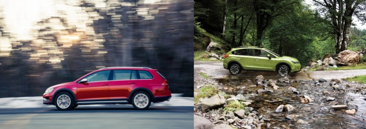 Subaru XV vs Golf Alltrack