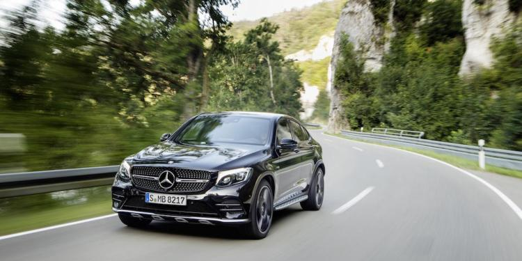 The Mercedes-AMG GLC 43 4Matic Coupe has been revealed ahead of its Paris Motor Show debut.