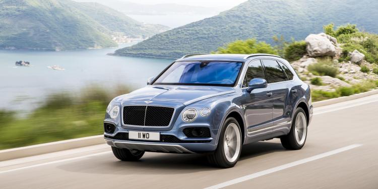Bentley Bentayga diesel revealed