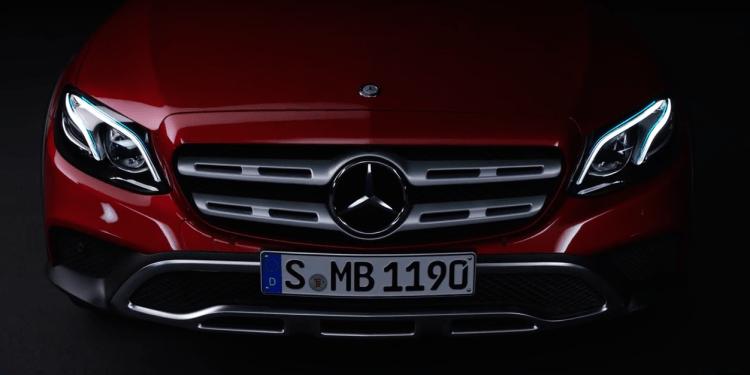 Mercedes-Benz E-Class All Terrain teased