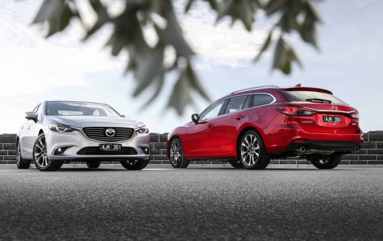 refreshed Mazda6 launched