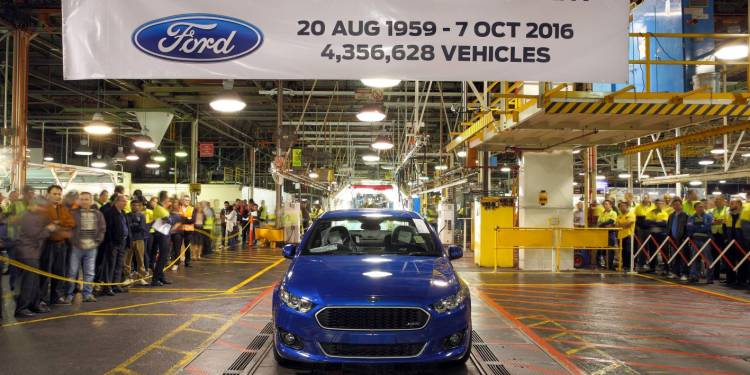 Last ever Ford Falcon
