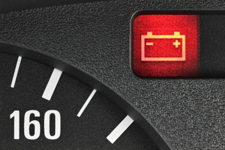 52074402 - battery warning light
