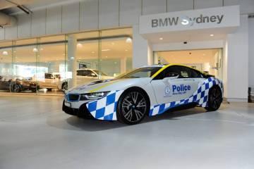 NSW Police get BMW i8