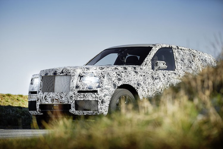 Rolls-Royce Project Cullinan teased
