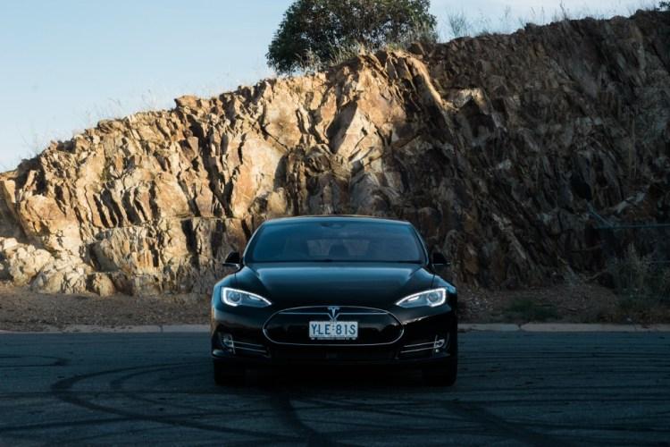 Tesla Model S and Jane Speechely for Practical Motoring