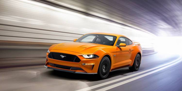2018 Ford Mustang revealed