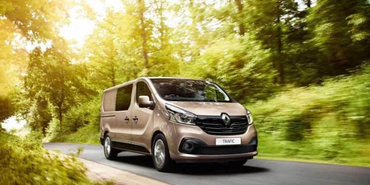 Renault traffic crew revealed
