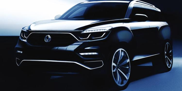 Ssangyong Y400 teased