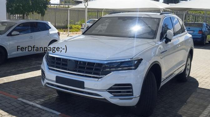 VW Touareg spied