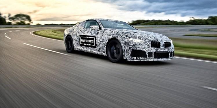 BMW M8 teased