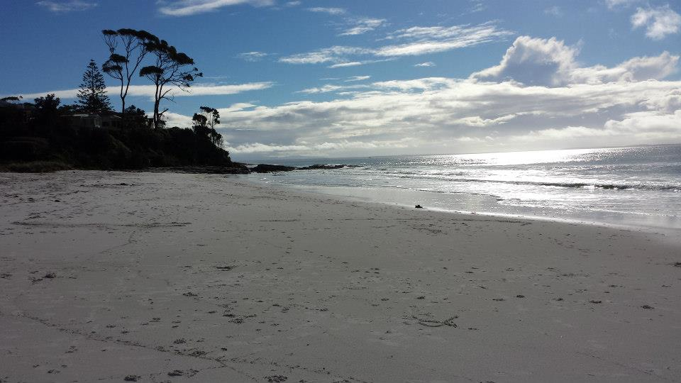 Hyams Beach, Jervis Bay, NSW. Almost certainly worth getting bogged .